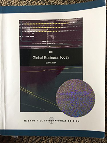 9780071285506: Global Business Today 6Ed (Pb 2009)