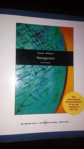 Management: A Practical Introduction: Angelo Kinicki