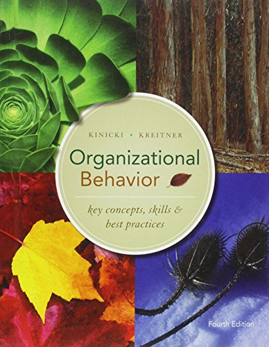 9780071285582: Organizational Behavior: Key Concepts, Skills & Best Practices