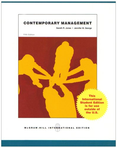 9780071285612: Contemporary Management