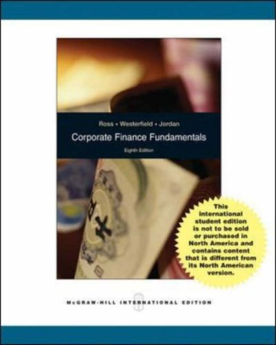 9780071285636: Corporate Finance Fundamentals ALT ISE