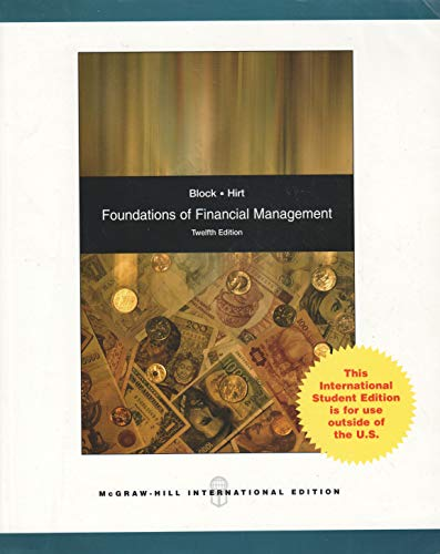 Foundations of Financial Management: Text and Educational: Stanley B. Block,