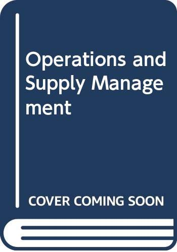 9780071285735: Operations and Supply Management with Student DVD-ROM