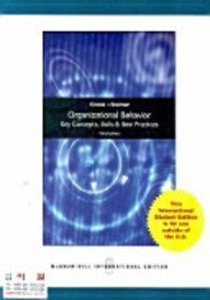 9780071285773: Organizational Behavior: Key Concepts, Skills and Best Practices