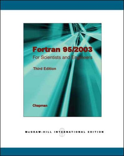 9780071285780: Fortran 95/2003: for Scientists and Engineers