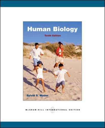 Human Biology (0071285792) by Sylvia S. Mader