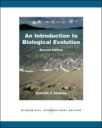 9780071285827: An Introduction to Biological Evolution