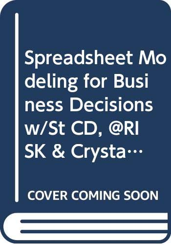 9780071285834: Spreadsheet Modeling for Business Decisions