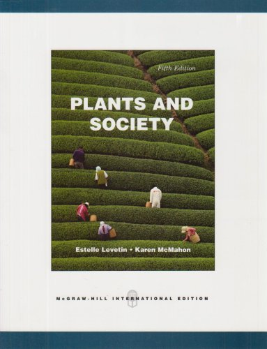 9780071285841: Plants & Society. Estelle Levetin, Karen McMahon