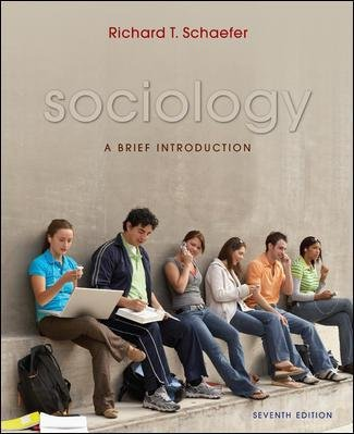 Sociology (007128592X) by Richard T. Schaefer