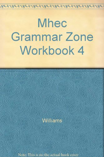 9780071286138: MHEC Grammar Zone Workbook 4