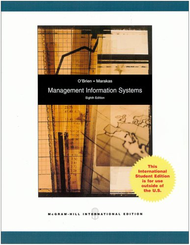 Management Information Systems with MISource 2007: O'Brien, James A.,