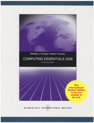 9780071286404: Computing Essentials 2008