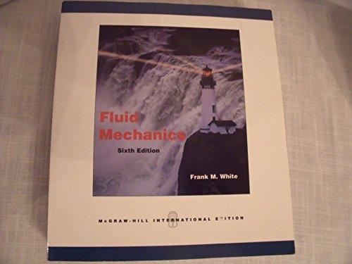 9780071286459: Fluid Mechanics Sixth Edition International