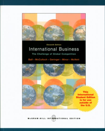 9780071286671: International Business: The Challenge of Global Competition
