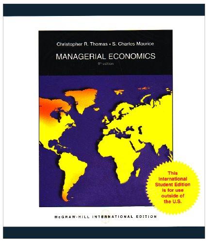 9780071286749: Managerial Economics