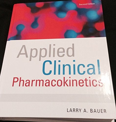 9780071287265: Applied Clinical Pharmacokinetics