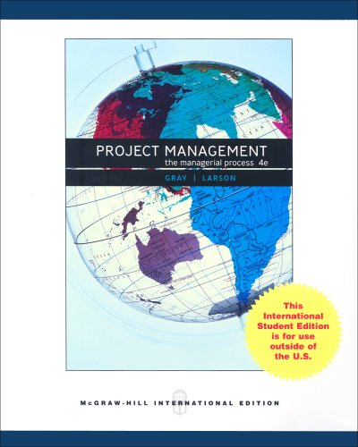 9780071287524: Project management: The Managerial Process (Book & CD): WITH MS Project CD and Student CD