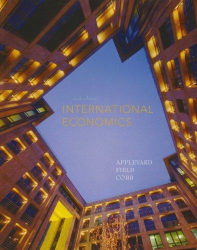 9780071287562: International Economics