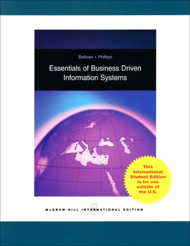 9780071287586: Essentials of Business Driven Information Systems