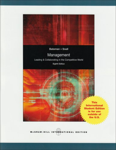 9780071287609: Management: Leading and Collaborating in the Competitive World