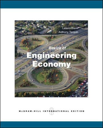 9780071287623: Basics of Engineering Economy