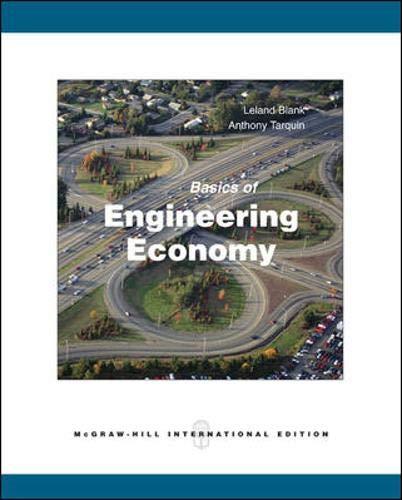 9780071287623: Basics of Engineering Economy. Leland Blank, Anthony Tarquin