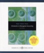 9780071287630: Introduction to Managerial Accounting