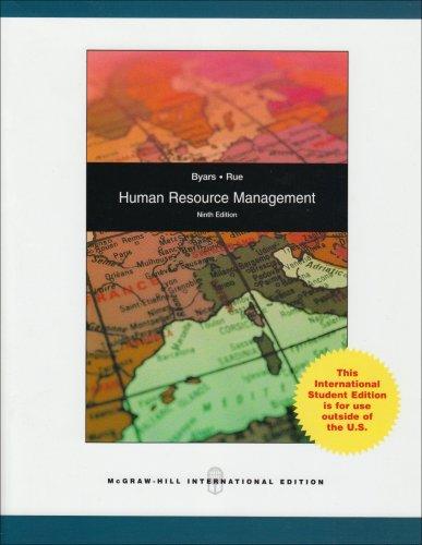 9780071287692: Human Resource Management