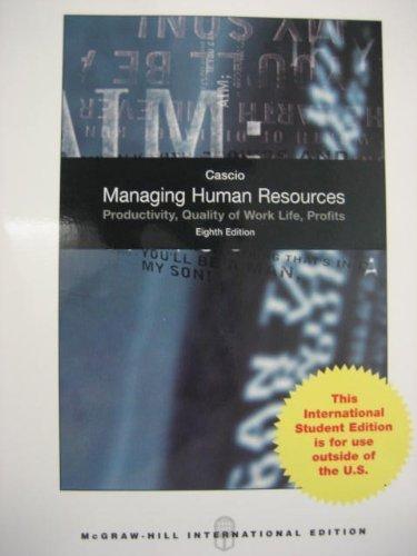 9780071287708: Managing Human Resources