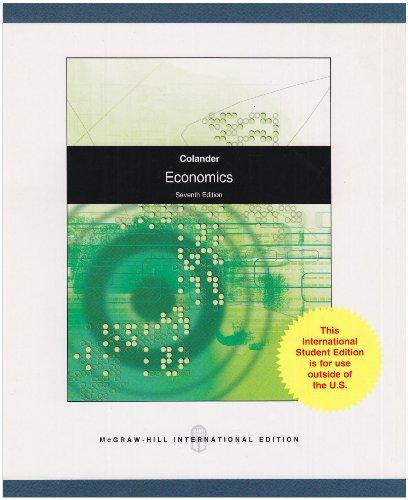 9780071287753: Economics