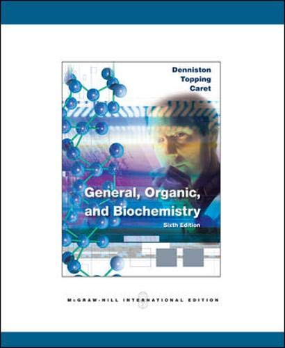 9780071287821: General, Organic and Biochemistry