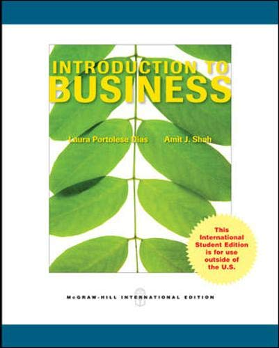 9780071287852: Introduction to Business
