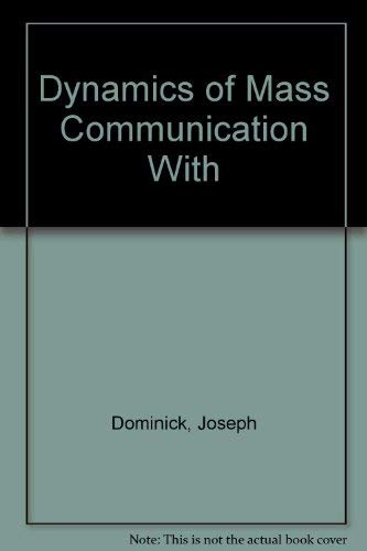 9780071287876: Dynamics of Mass Communication: Media in the Digital Age