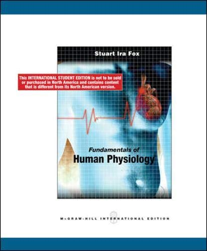 9780071287913: Fundamentals of Human Physiology