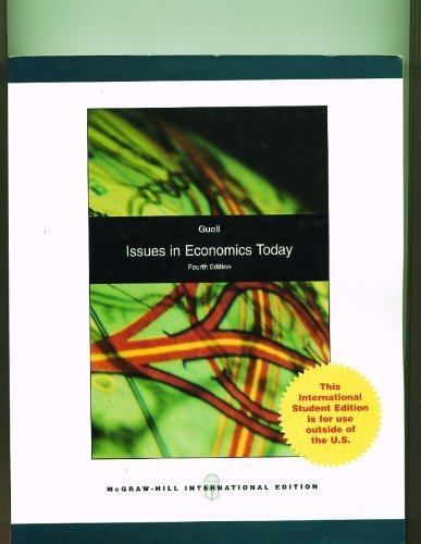 9780071287951: Issues in Economics Today