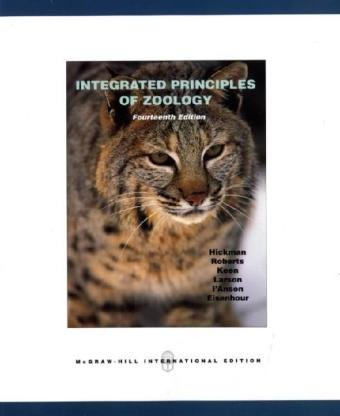 9780071287975: Integrated Principles of Zoology