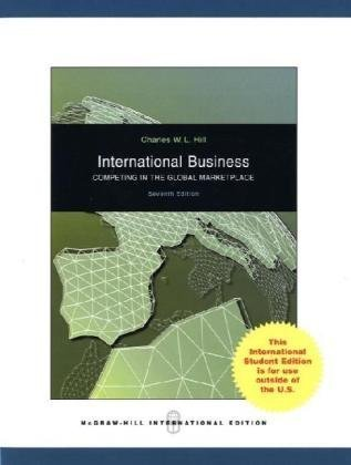 9780071287982: International Business