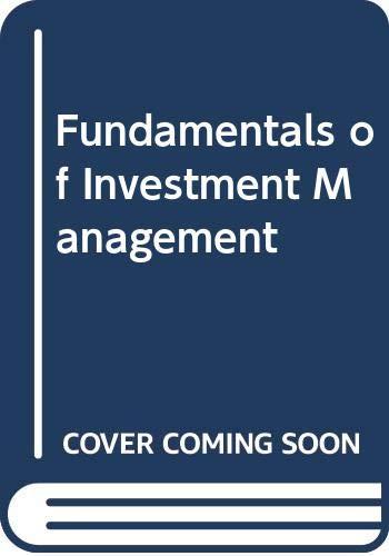 9780071288002: Fundamentals of Investment Management