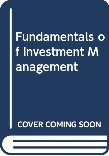 9780071288002: Fundamentals of Investment Management
