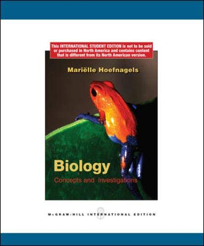 9780071288019: Biology: Concepts and Investigations
