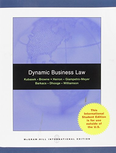 9780071288095: Dynamic Business Law