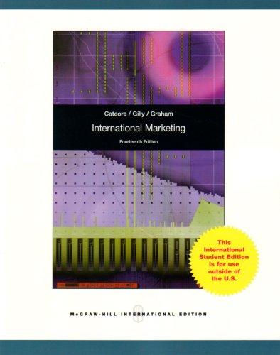 9780071288385: International Marketing