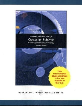 9780071288415: Consumer Behavior with DDB LifeStyle Study Data Disk