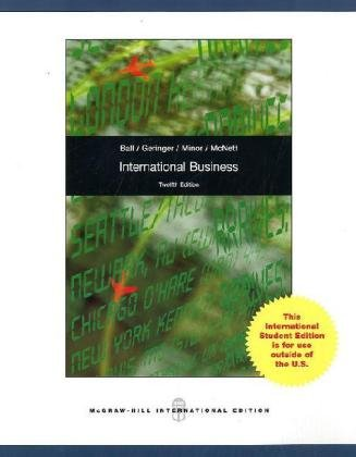 9780071288439: International Business