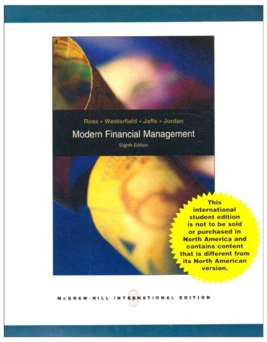 9780071288521: Modern Financial Management