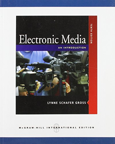 9780071288682: Telecommunications: An Introduction to Electroninc Media