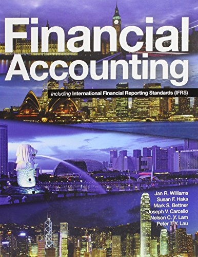9780071288965: Financial Accounting Including Ifrs