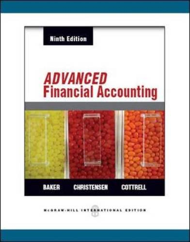 Advanced Financial Accounting: Baker