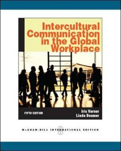 9780071289122: Intercultural Communication in the Global Workplace (Int'l Ed)